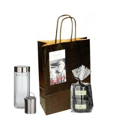 """""""Tea to Go"""" Geschenktasche mit Offentee & Teatumbler 0.3 L/ 0.5 L"""