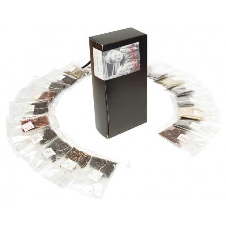 """""""Tea to Go"""" Geschenkpackung mit 30 Stk. Sachets Crystal"""