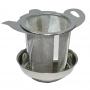 """Teefilter """"Teekanne"""" mit Untersatz"""